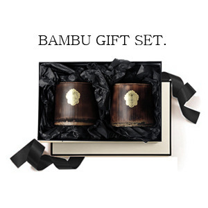 Bambu candle Gift Set. (BeesCandle)
